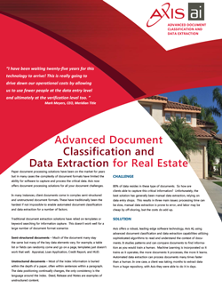 Real Estate Data Sheet Download -