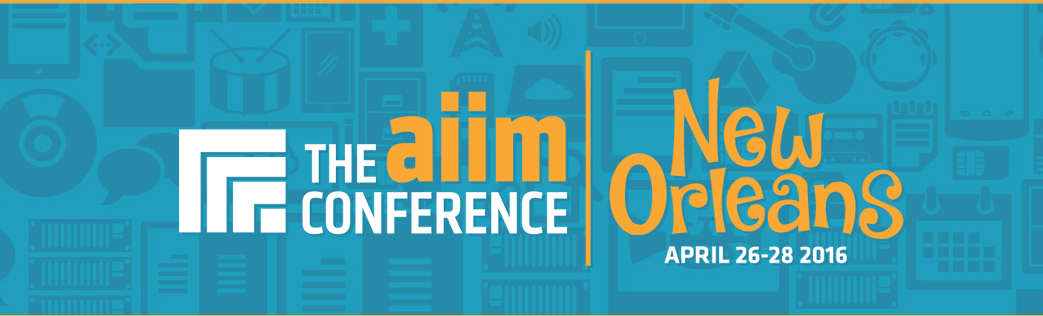 AIIM Conference 2016